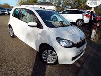 USED 2014 14 SKODA CITIGO 1.0 SE 12V 3d 59 BHP ONE Owner ONLY £20 Road Tax