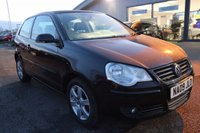 USED 2009 09 VOLKSWAGEN POLO 1.2 MATCH 3d 68 BHP LOW DEPOSIT OR NO DEPOSIT FINANCE AVAILABLE.