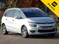 2014 CITROEN C4 PICASSO 1.6 GRAND E-HDI AIRDREAM EXCLUSIVE PLUS 5d 113 BHP £12470.00