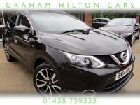 USED 2014 14 NISSAN QASHQAI 1.5 DCI TEKNA 5d 108 BHP FULL LEATHER, SAT NAV, PANORAMIC ROOF, FULL SERVICE HISTORY, SPARE KEY