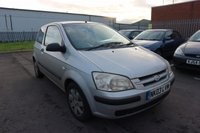 USED 2003 03 HYUNDAI GETZ 1.3 GSI 3d 81 BHP CLEARANCE AS IS . NOT AVAILABLE ON FINANCE.