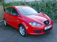 2007 SEAT ALTEA 1.6 REFERENCE 5d 101 BHP £1299.00