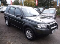 2005 LAND ROVER FREELANDER 2.0 TD4 S STATION WAGON 5d 110 BHP £3000.00