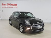 USED 2014 64 MINI HATCH ONE 1.2 ONE 3d 101 BHP with Pepper Pack + Park Distance Control + More