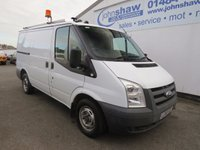 2010 FORD TRANSIT 85T 300 EX-BT FULLY RACKED SWB LOW ROOF VAN WITH TWIN SIDE DOORS £6195.00