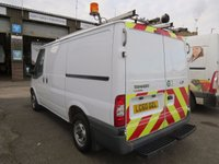 USED 2010 60 FORD TRANSIT 85T 300 EX-BT FULLY RACKED SWB LOW ROOF VAN WITH TWIN SIDE DOORS ONE OWNER - FSH - ONLY 62,000m