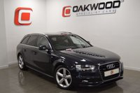 USED 2013 62 AUDI A4 2.0 AVANT TDI QUATTRO S LINE 5d 177 BHP  *1 OWNER* 1 OWNER + FULL HISTORY