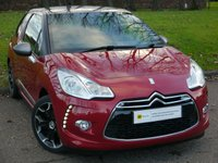 2013 CITROEN DS3 1.6 THP DSPORT 3d 156 BHP £7495.00