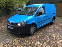 2011 VOLKSWAGEN CADDY MAXI 1.6 C20 TDI 1d 101 BHP LOW MILES RECENT MAIN DEALER SERVICE