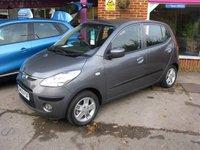 2009 HYUNDAI I10 1.2 COMFORT 5d AUTO 77 BHP £4295.00