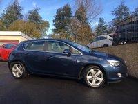 2011 VAUXHALL ASTRA 2.0 SRI CDTI S/S 5d 163 BHP £4995.00