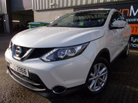 USED 2014 NISSAN QASHQAI 1.2 ACENTA DIG-T SMART VISION 5d 113 BHP Excellent Condition, FSH, Low Rate Finance Available, No Deposit, No Fee Finance