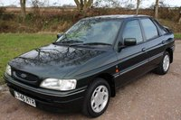 1993 FORD ESCORT 1.6 GHIA 16V 1993/L  5 DOOR HATCHBACK ONLY 39000 MILES £2995.00
