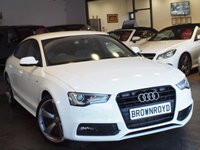 USED 2014 64 AUDI A5 2.0 SPORTBACK TDI S LINE BLACK EDITION S/S 5d AUTO 148 BHP SAT NAV+B&O+FULL LEATHER+FSH