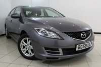 USED 2008 58 MAZDA 6 2.0 TS 5DR 145 BHP SERVICE HISTORY + CRUISE CONTROL + MULTI FUNCTION WHEEL + CLIMATE CONTROL + RADIO/CD + 16 INCH ALLOY WHEELS