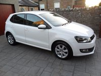 USED 2014 63 VOLKSWAGEN POLO 1.4 MATCH EDITION DSG 5d AUTO 83 BHP 1 OWNER. FULL HISTORY. LOW MILES. PART EX WELCOME.