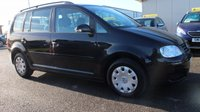 USED 2005 05 VOLKSWAGEN TOURAN 1.9 S TDI 7 STR 5d 103 BHP LOW DEPOSIT OR NO DEPOSIT FINANCE AVAILABLE.