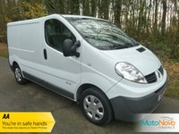 2014 RENAULT TRAFIC 2.0 SL27 SPORT DCI S/R P/V 1d 115 BHP £7000.00