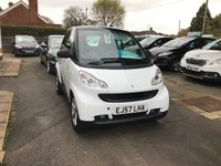 USED 2007 57 SMART FORTWO 1.0 PULSE 2d AUTO 70 BHP FULL SMART/MERCEDES SERVICE HISTORY