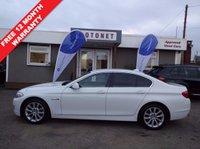 2011 BMW 5 SERIES 2.0 520D SE 4DR SALOON DIESEL 181 BHP £12440.00