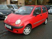 2004 DAEWOO MATIZ 1.0 XTRA COOL 5d 63 BHP £695.00