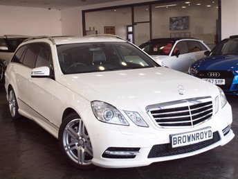 2013 MERCEDES-BENZ E CLASS 3.0 E350 CDI BLUEEFFICIENCY S/S SPORT 5d AUTO 265 BHP £14990.00