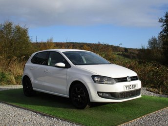 2013 VOLKSWAGEN POLO 1.2 MATCH EDITION TDI 5d 74 BHP £6500.00