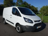 USED 2014 14 FORD TRANSIT CUSTOM 270 L1 SWB 2.2 TDCI 100 PS Only Used For Light Use Hence Very Clean Inside And Out! Viewing Highly Recommended!