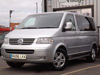 2006 VOLKSWAGEN CARAVELLE 2.5 EXECUTIVE TDI 5d AUTO 130 BHP NO VAT ON THIS VEHICLE £12995.00