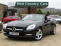 USED 2011 61 MERCEDES-BENZ SLK 1.8 SLK200 BLUEEFFICIENCY EDITION 125 2d 184 BHP Fun To Drive Hard Top Convertible