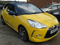 2015 CITROEN DS3 1.6 E-HDI DSTYLE PLUS 3d 90 BHP £SOLD