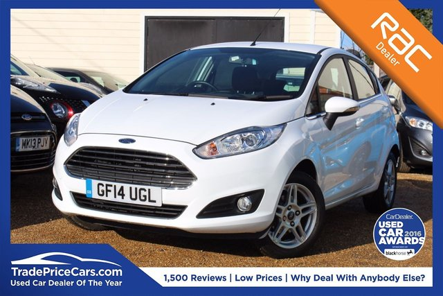 View our 2014 14 FORD FIESTA 1.0 ZETEC 5d 79 BHP