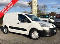USED 2011 60 PEUGEOT PARTNER 1.6 HDI S L1 625 1d 74 BHP Only 45,300 Miles, One Owner, Well Above Average Example.