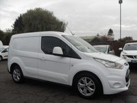 2014 FORD TRANSIT CONNECT 1.6 TDCi 200 LIMITED P/V 5d  £8500.00