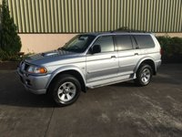 USED 2005 MITSUBISHI SHOGUN SPORT 2.5 EQUIPPE TD 5d 114 BHP LOW ROAD TAX - £305, AIR-CON, CD PLAYER, ALLOYS, LOW TAX
