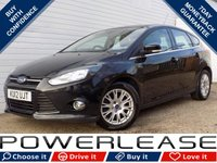 USED 2012 12 FORD FOCUS 1.6 TITANIUM TDCI 115 5d 114 BHP BLACK FRIDAY WEEKEND EVENT, £20 ROAD TAX CRUISE BLUETOOTH