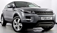 USED 2011 61 LAND ROVER RANGE ROVER EVOQUE 2.2 SD4 Pure Coupe 4x4 3dr Xenons, Heated Leather, DAB