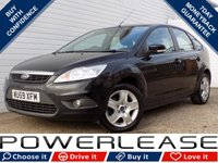 USED 2009 59 FORD FOCUS 1.6 STYLE 5d 100 BHP BLACK FRIDAY WEEKEND EVENT, ALLOYS AUX INPUT SERVICE HIST