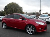 2011 FORD FOCUS 1.6 TITANIUM X TDCI 5d. SAT-NAV, PARKS ITSELF, ADAPTIVE CRUISE CONTROL PLUS LOADS MORE £6750.00