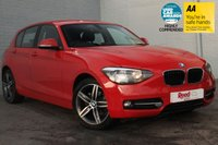 USED 2014 64 BMW 1 SERIES 1.6 116I SPORT 5d 135 BHP 1 OWNER + FSH + COMFORT PACK