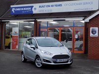 USED 2014 64 FORD FIESTA 1.0 ZETEC 5dr AUTO 100 BHP *ONLY 9.9% APR with FREE Servicing*