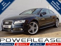 USED 2010 10 AUDI A5 2.0 TDI S LINE 2d 168 BHP BLACK FRIDAY WEEKEND EVENT, BLUETOOTH P/SENSORS CRUISE
