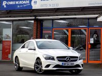 USED 2014 64 MERCEDES-BENZ CLA CLA200 1.8 CDi SPORT 4dr 136 BHP  *ONLY 9.9% APR with FREE Servicing*