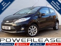 USED 2011 11 FORD FIESTA 1.4 ZETEC TDCI 3d 69 BHP BLACK FRIDAY WEEKEND EVENT, HEATED FRONT SCREEN £20 TAX