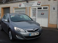 USED 2011 08 VAUXHALL ASTRA 2.0 ELITE CDTI 5d AUTO 163 BHP Heated Seats , Cruise Control ,5 Service Stamps Full Leather Interior