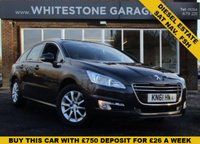 USED 2011 61 PEUGEOT 508 1.6 SR SW HDI 5d 112 BHP SAT NAV, CLIMATE AND CRUISE CONTROL, PARKING SENSORS. FSH