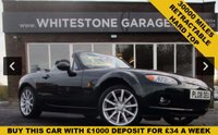 USED 2008 08 MAZDA MX-5 2.0 I ROADSTER SPORT 2d 160 BHP RETRACTABLE HARD TOP, HEATED LEATHER SEATS, 30000 MILES BEAUTIFUL CONDITION.