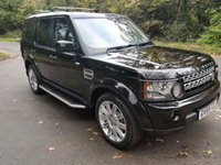 USED 2010 59 LAND ROVER DISCOVERY 4 3.0 4 TDV6 HSE 5d AUTO 245 BHP