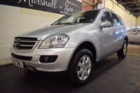 USED 2007 57 MERCEDES-BENZ M CLASS 3.0 ML320 CDI SE 5d AUTO 222 BHP