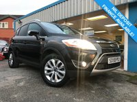 USED 2009 59 FORD KUGA 2.0 TITANIUM TDCI 2WD 5d 134 BHP 1/2 LEATHER, CLIMATE, PRIVACY GLASS, P/SENSORS